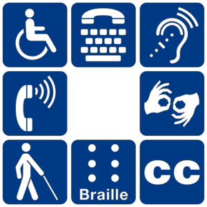 Image of disability symbols