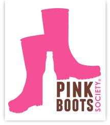 Pink Boots Society Logo